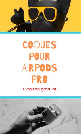 Des coques airpods Pro design