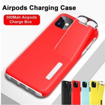Etui 2 en 1 coque pour Iphone 6/6S et chargement airpods