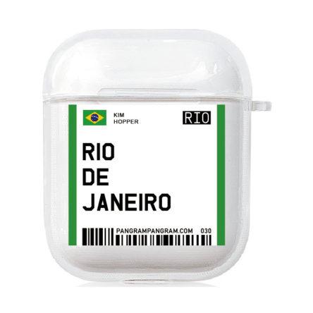 Coque de protection pour Airpods 1&2 et Pro Rio de Janeiro